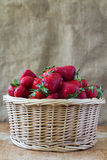 Fresh strawberry. Fresh strawberries in a basket Stock Images