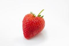 Fresh strawberry  on white background Stock Images
