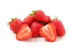 Strawberry. Fresh strawberry on white background stock image