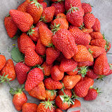 Fresh Strawberrys Royalty Free Stock Photo
