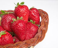 Fresh strawbery Stock Images