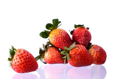 Fresh strawbery Stock Photography