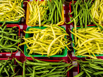Fresh String Beans Royalty Free Stock Photography