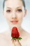 Fresh strowberry Stock Images