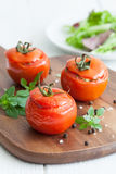 Fresh stuffed tomatoes Stock Photography