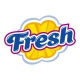 Fresh style emblem Stock Photos