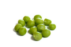 Fresh Sugar pea on white background Stock Photo