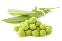 Fresh sugar snap peas Stock Photo
