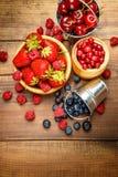 Fresh summer berries Royalty Free Stock Photo