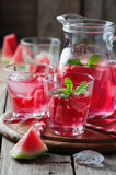 Fresh summer cocktail with watermelon Royalty Free Stock Image