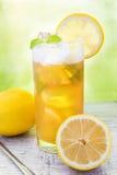 Fresh summer drink ice tea Stock Image
