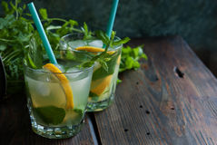 Fresh summer drink Royalty Free Stock Photography