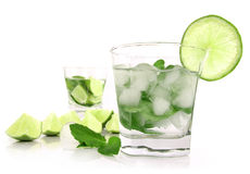 Fresh summer drinks Stock Photos