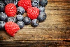 Fresh summer food background Stock Photo