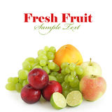 Fresh summer fruit Royalty Free Stock Photos