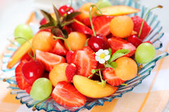Fresh summer fruits Stock Image
