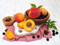 Fresh summer fruits Stock Image