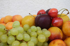 Fresh Summer Fruits Stock Photo