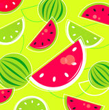 Fresh Summer Melon retro background / pattern stock image