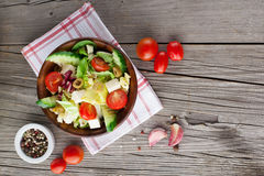 Fresh summer salad Stock Photography