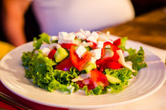 Fresh Summer salad stock photos
