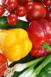 Fresh summer vegetables. Royalty Free Stock Photos
