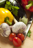 Fresh summer vegetables Royalty Free Stock Photo