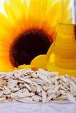 Fresh Sunflower seeds peeled Royalty Free Stock Photo