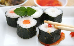 Fresh sushi Royalty Free Stock Photo