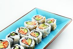 Fresh Sushi Royalty Free Stock Photography