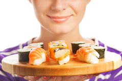 Fresh sushi Royalty Free Stock Image