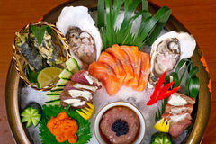 Fresh sushi choice combination assortment selection Stock Images