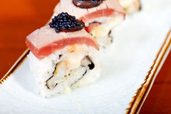 Fresh sushi choice combination assortment selection Royalty Free Stock Photography