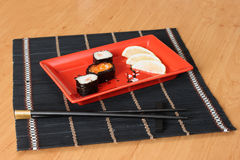 Sushi sticks Stock Image