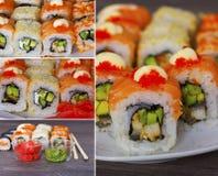 Fresh sushi Royalty Free Stock Photos