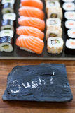 Fresh sushi Stock Image