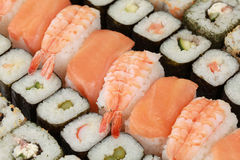 Fresh Sushi Stock Photo