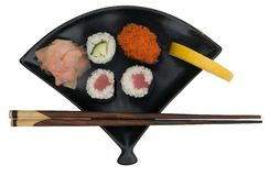 Fresh Sushi Dish stock photo