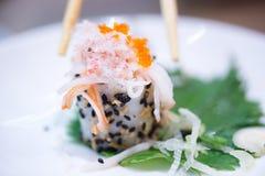 Fresh sushi Stock Photography