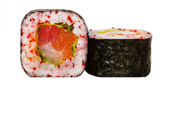 Fresh sushi roll Stock Images