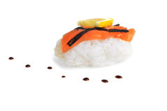 Fresh sushi rolls Stock Photos