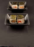 Fresh sushi served Royalty Free Stock Photo