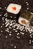 Fresh sushi served Stock Photography