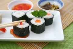 Fresh sushi Stock Image