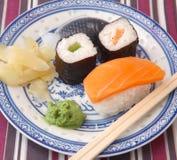 Fresh sushi Stock Photos