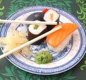 Fresh sushi Stock Images