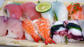 The fresh sushi Royalty Free Stock Photography
