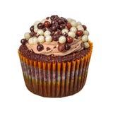 Sweet cupcake on white Royalty Free Stock Photos