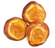 Fresh sweet buns Royalty Free Stock Photo