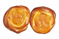 Fresh sweet buns Stock Images